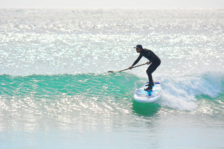 海で波乗り(SUPサーフィン・SUPウェーブ)が楽しめます!